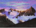 Sundown Mountain - Print